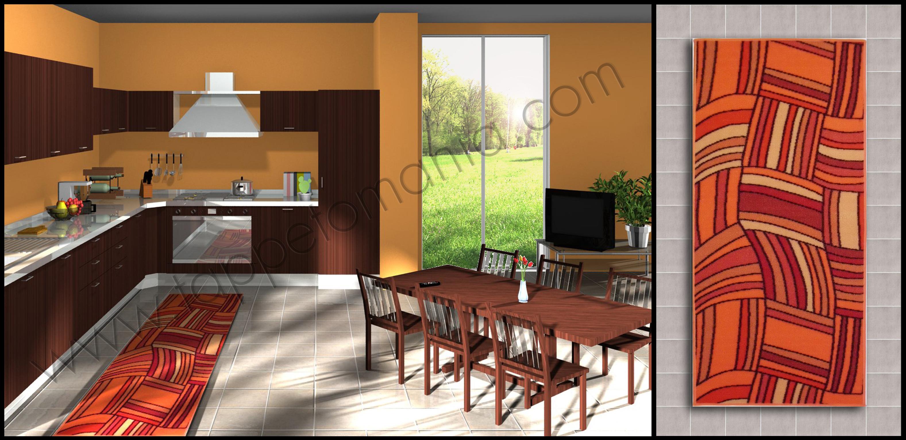 Tappeti Cucina Bagno Antimacchia Prezzi Economici #A73824 3154 1531 Tappeti Moderni Per Sala Da Pranzo