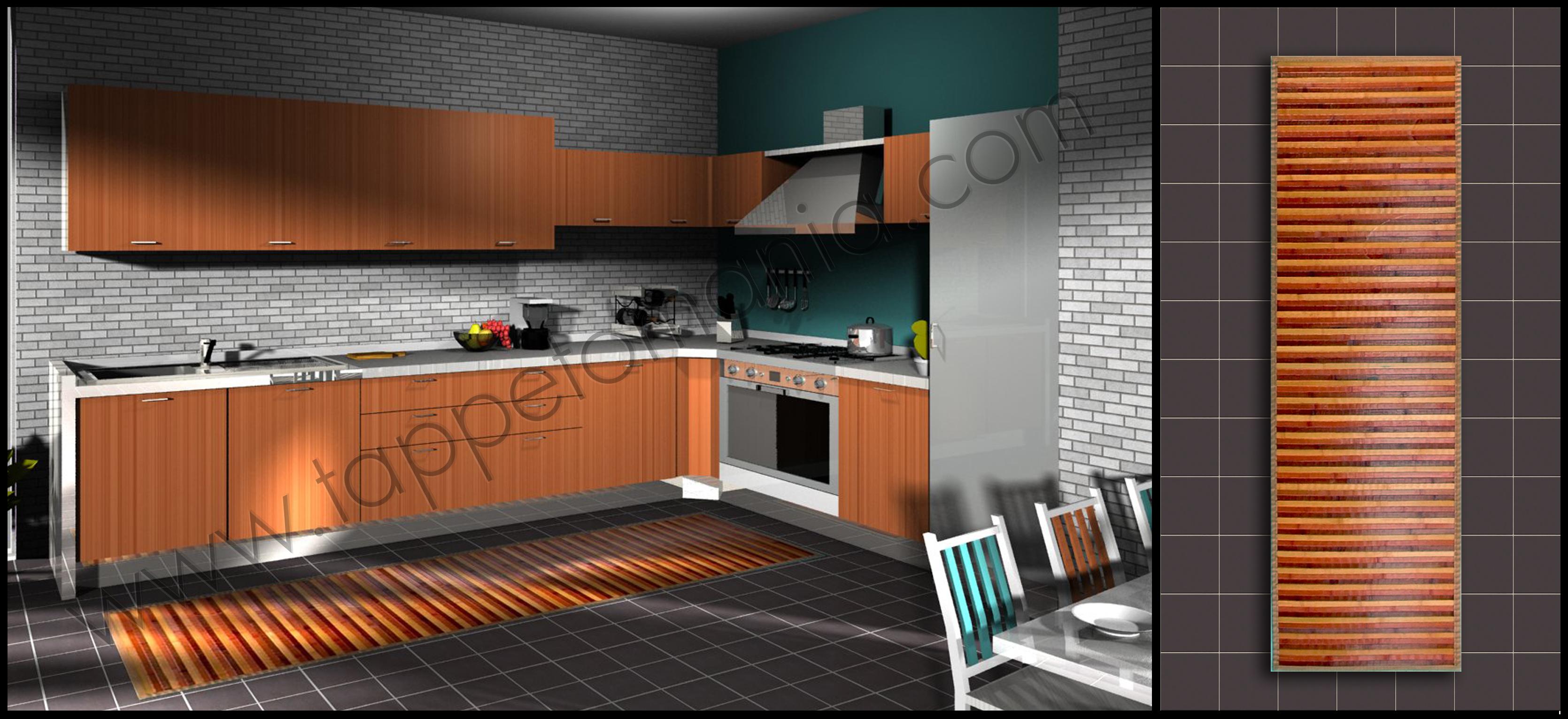 prezzi tappeti bamboo ebay : (bollengo) - Cucine Moderne Prezzi Bassi